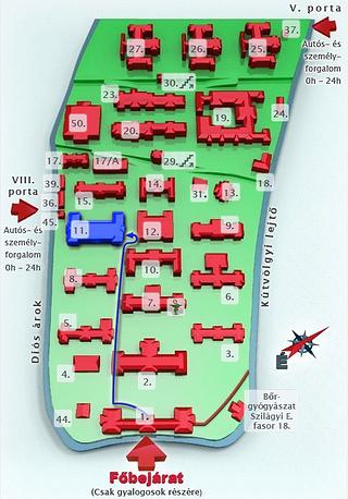 szent jános kórház térkép Már az óperencián innen szent jános kórház térkép